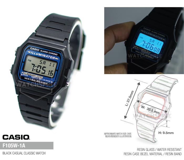 brand new eb482 50007 CASIO GENUINE* ARMY WATCH SERIES. F91W F200W ...