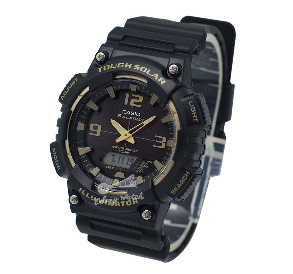 bd4f04a3899 Details about -Casio AQS810W-1A3 Analog Digital Tough Solar Watch Brand New    100% Authentic